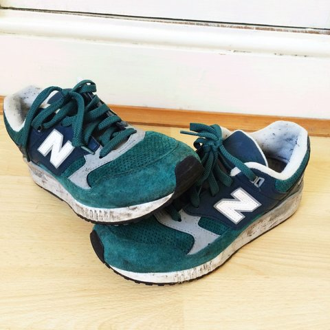 dc1df359fdbce Green new balance 530. Only worn a few times and are just a - Depop