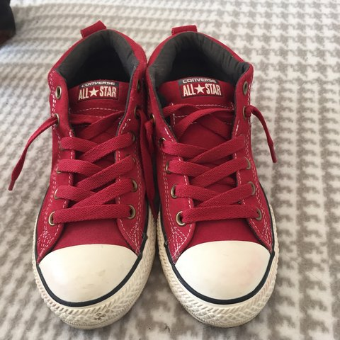 converse all star rosso scuro