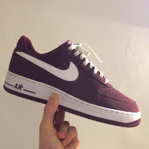 outlet store 690d5 58090 @scottchisholm93. 2 years ago. Enfield, United Kingdom. Mens NIKE AIR FORCE  1 | Cherrywood Red ...