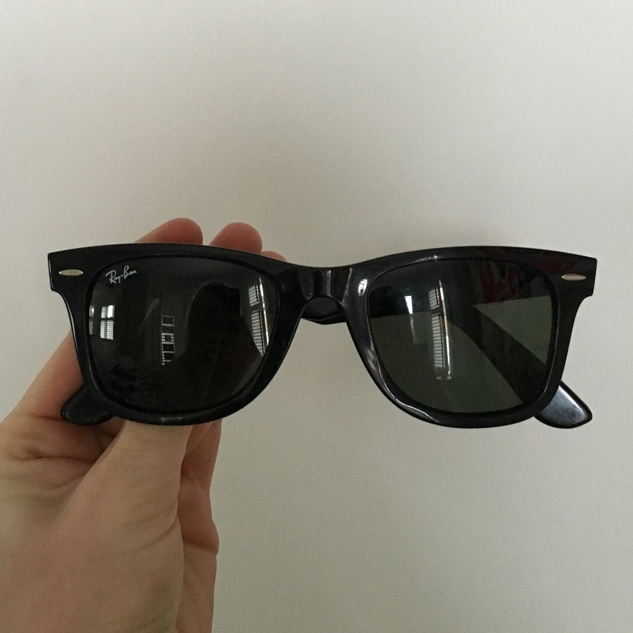 1827ad3987 Original Ray Ban wayfarer! ABSOLUTELY NO OFFERS!!!They are I - Depop