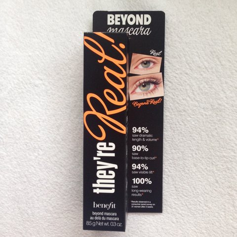 5cc09d07a6d @meganashby. 2 years ago. Beverley HU17, UK. Benefit they're real beyond  mascara, brand new.