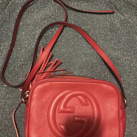"1fbad9f05120 @jocelynliu. last year. New York, United States. ""SOLD"" 100% authentic  Gucci soho disco bag ..."