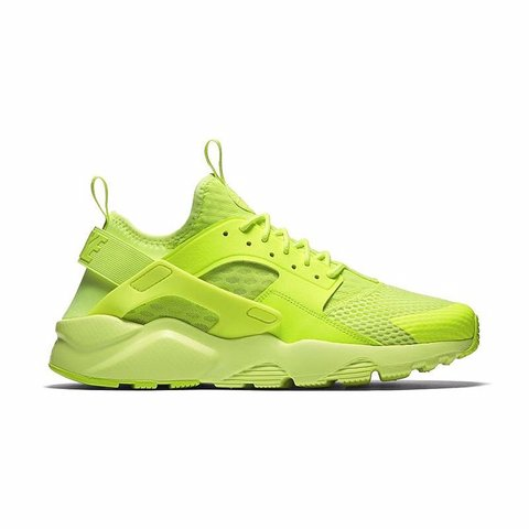 NIKE AIR HUARACHE RUN ULTRA BR GIALLO FLUO 833147 700 44