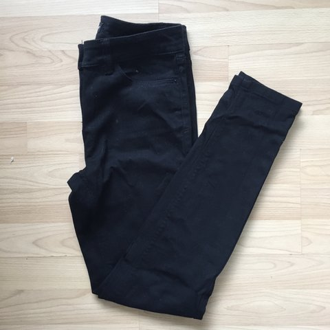 Next Black skinny jeans. Size 6R. Comfortable and flattering - Depop bcfd22ad6