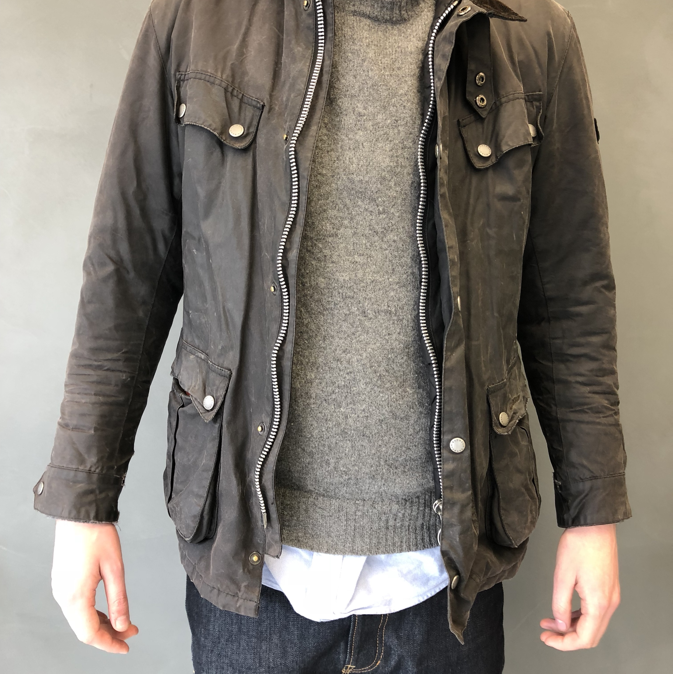 barbour international duke jacket