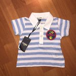 5b100be4d Baby Gucci polo shirt 6-9 months all tags attached . 100% - Depop