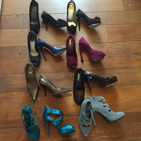 2adcf7ad8a @stefistefi. 4 years ago. High hill shoes décolleté scarpe Valentino 37  Prada 37 e Christian Dior 37 1/2 ...