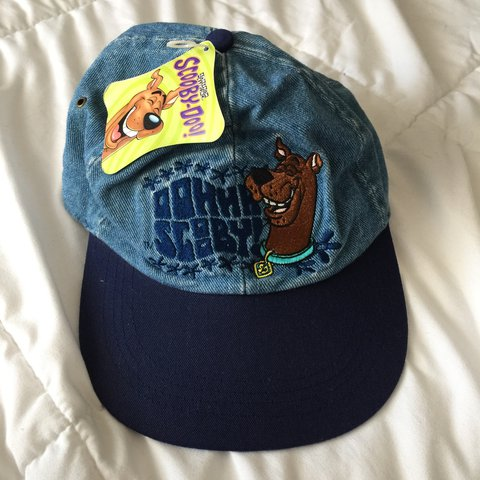 a8539acafa4 early 2000 s brand new Scooby-doo hat! non adjustable back - Depop