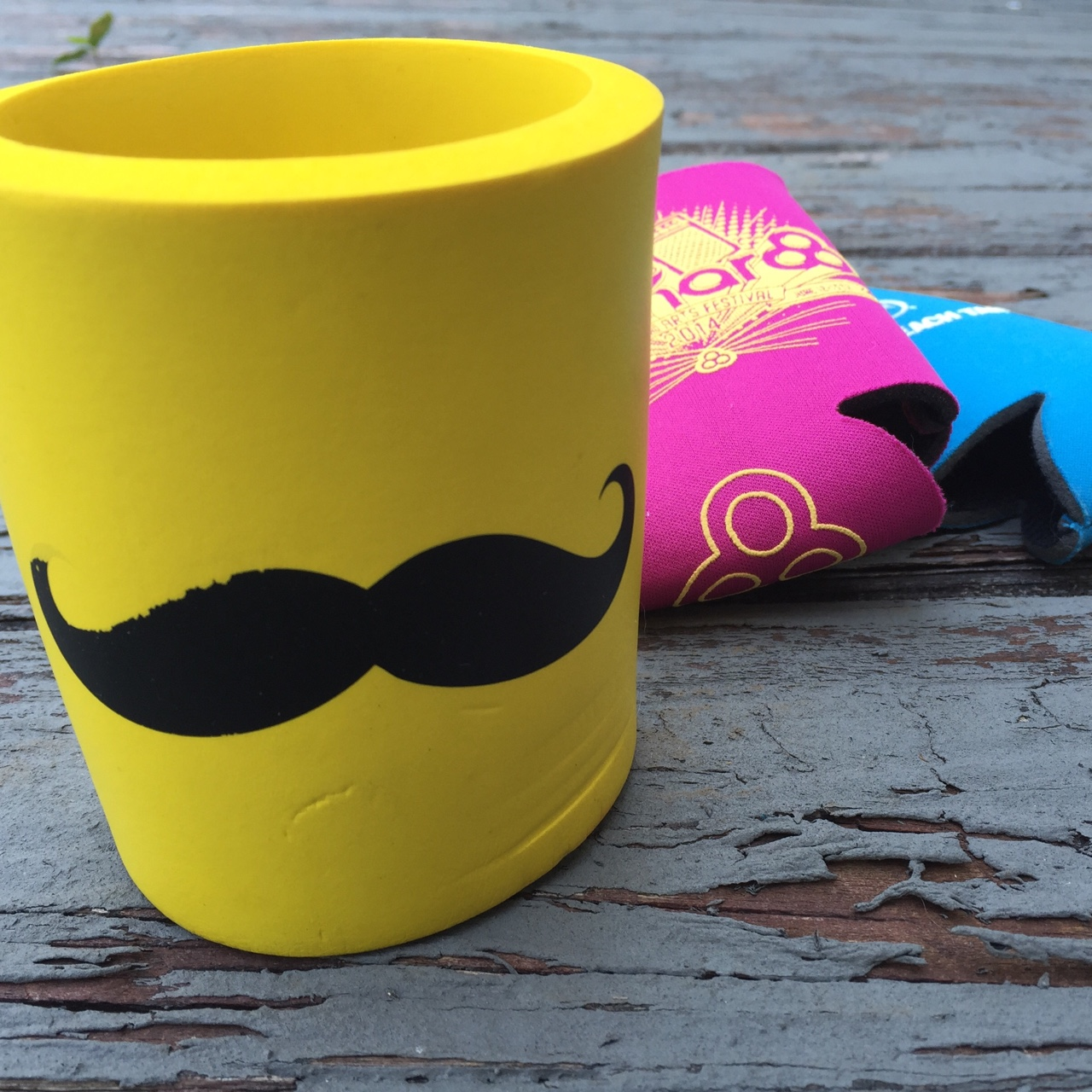 Palm Beach Tan Prices >> Mustache Coozie Bonnaroo And Palm Beach Tan Coozies