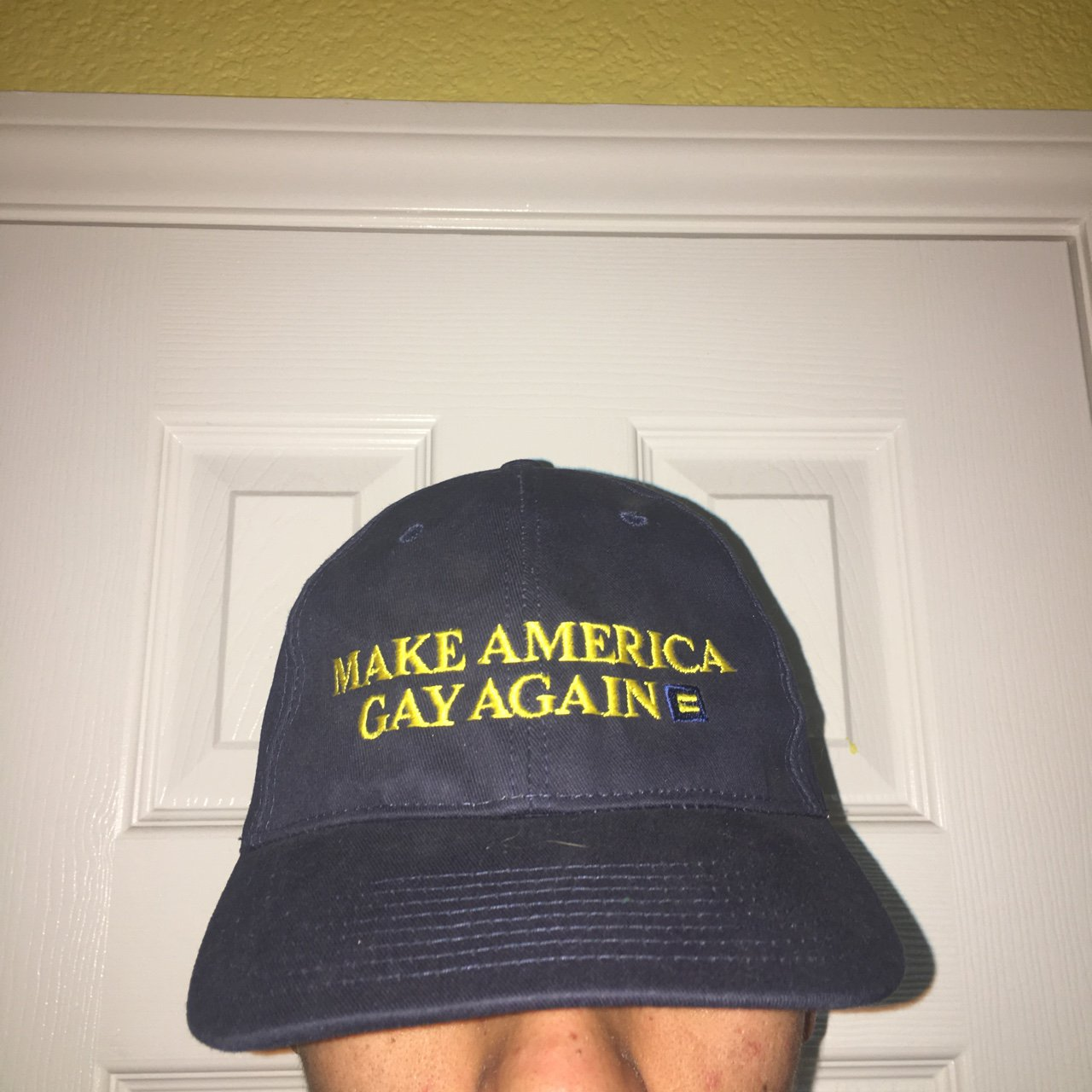 46af5cd6ea0 Make America Gay Again hat!! Purchased a while ago