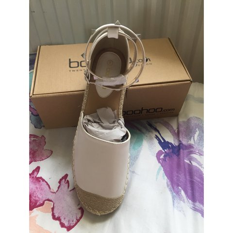 6c210fed6 Laura Stud Ankle Band Espadrille- Boohoo These are my shoe - Depop
