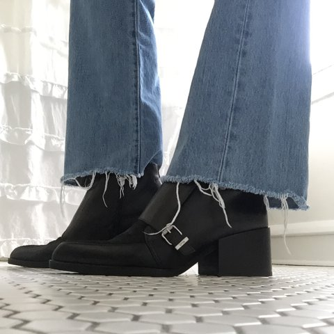 3c300e1b3 Sam Edelman Circus Buckle Ankle Boots ✨These are so They are - Depop