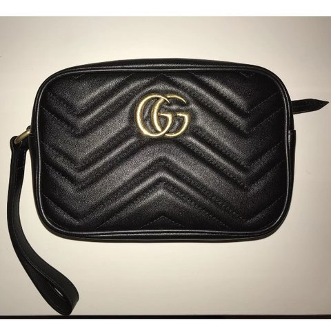 6a528598c29c @amylouisebarana. last year. Leicester, UK. Gucci Marmont Clutch Bag ...