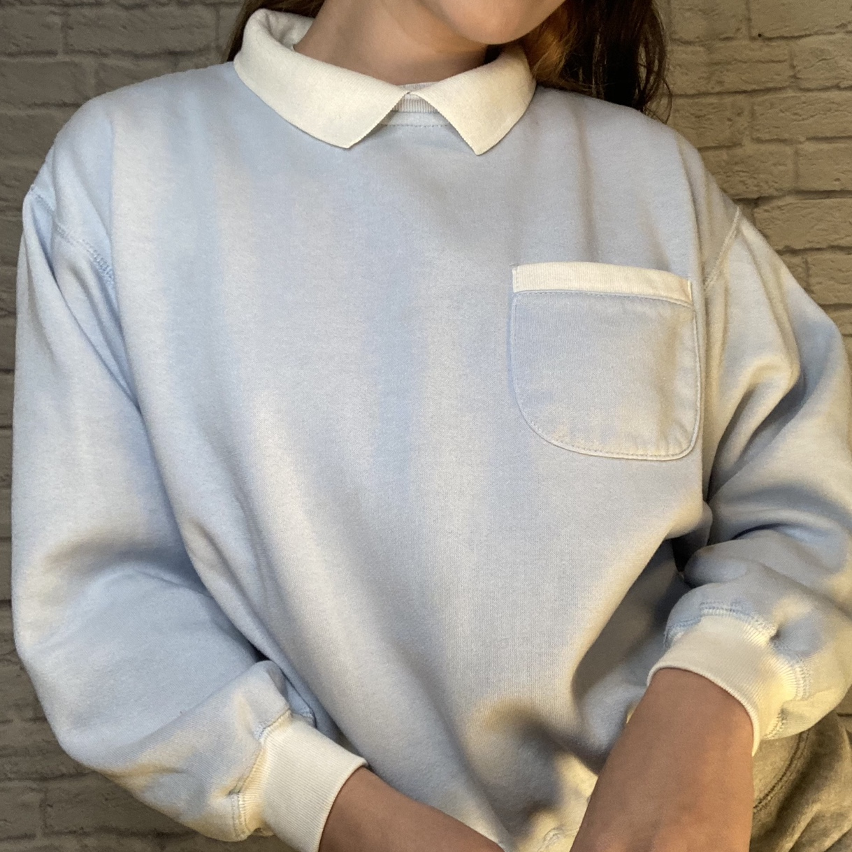 Vintage baby blue sweater 💙