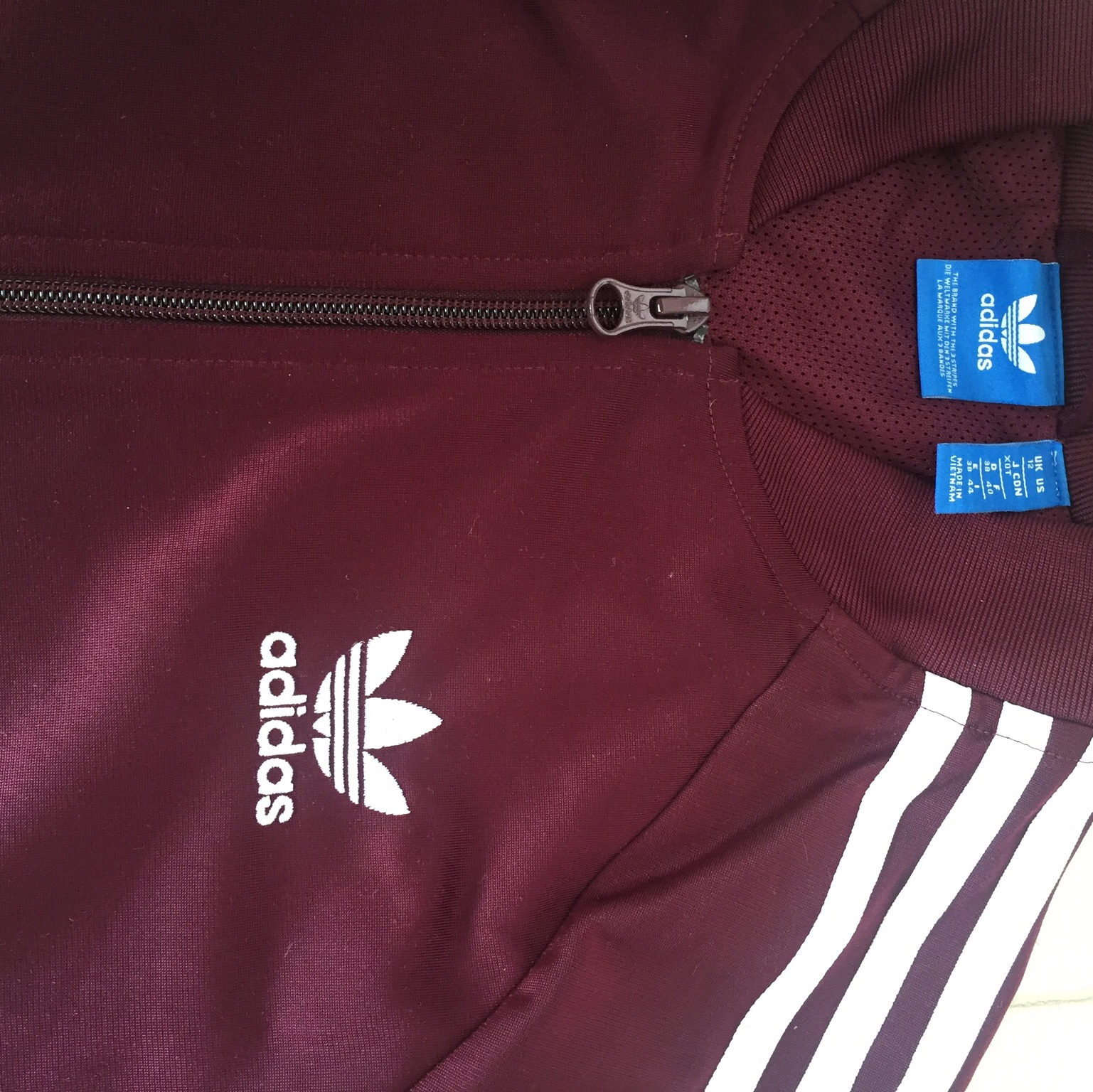 adidas originals felpa con zip