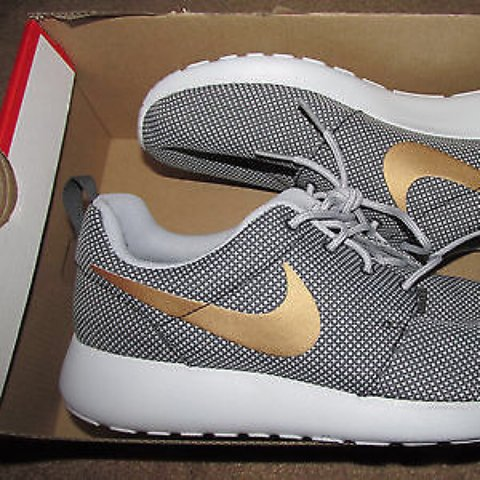 quality design a20f9 8f21f Nike roshe grey and gold,- 0