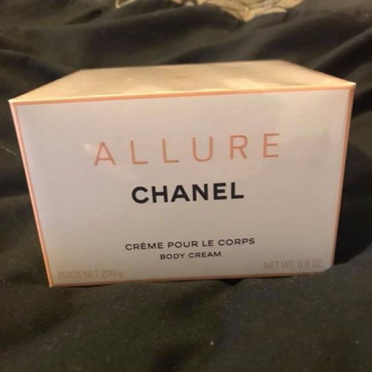 Chanel Allure Body Cream.Chanel Allure Body Cream Brand New In Box Depop