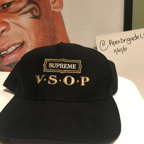 8438f50870315d ... france supreme v.s.o.p. hat from fw2010 forgot i had it. very old depop  8f810 e31d4