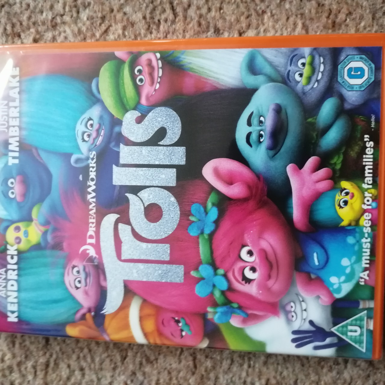 Trolls Dvd New And Sealed Price Includes First Depop Dvd trolls + trolls world tour (collection de 2 fi. depop