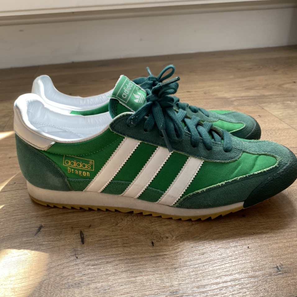 adidas Dragon, 2016 release. Green. UK size 8. In...