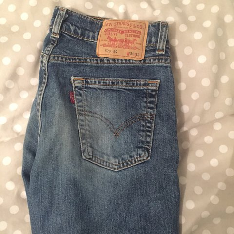 d188e0d5b55 AmAZZing pair of vintage Levis flared jeans 🤭 Tight around - Depop