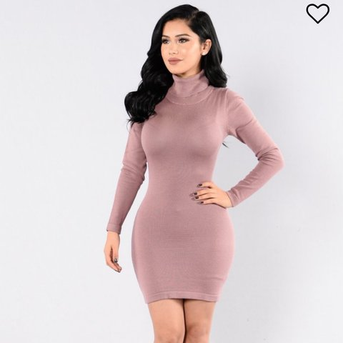 6a1c89f6dbe fashion nova mauve dress 💓 super hot and never worn dress - Depop