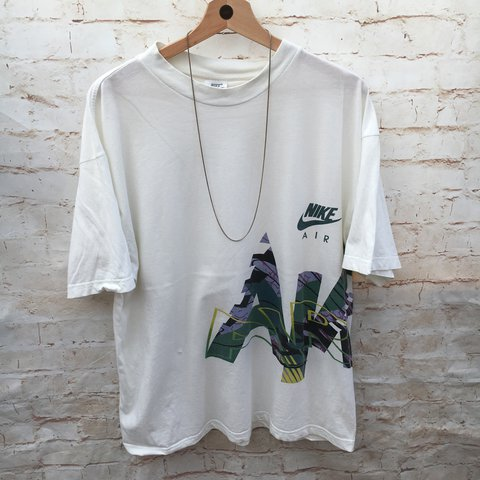 00488bd97678d1 Men s Vintage Nike Air T Shirt   Size States Large - Best A - Depop
