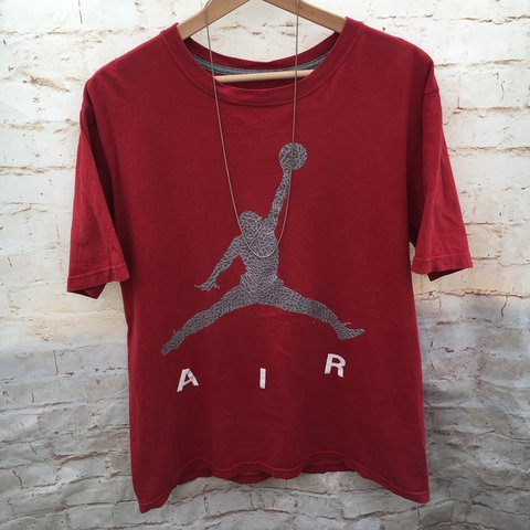 5aeafc4d0b31b4 Men s Air Jordan T Shirt   Size Large   Looks Sick Oversized - Depop