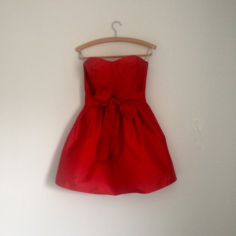 fb12ac5fd97d @lastgoodbuy. 4 years ago. Cambourne, Cambridge, Cambridgeshire CB23, UK.  RESERVED!! Asos red dress taffeta mini prom dress beautiful ...
