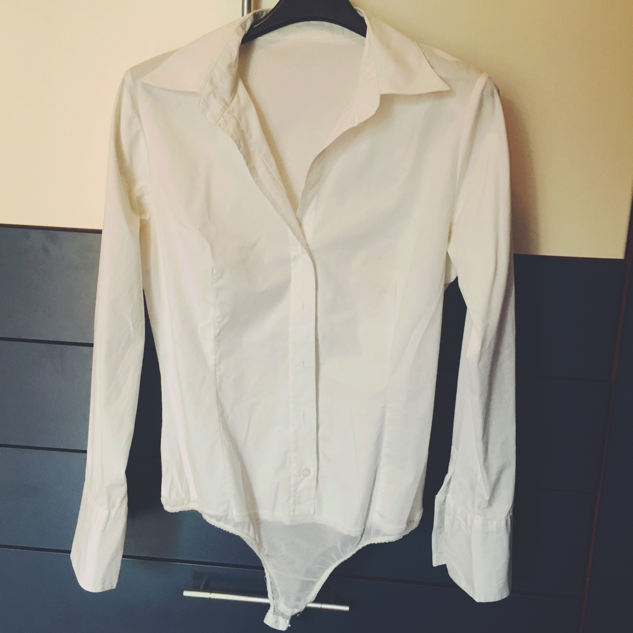 huge selection of c5269 38c63 Camicia bianca a body - Depop