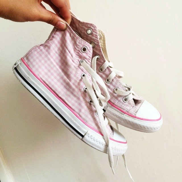 Cute Pink 2 And Size Comfy Depop 5 Converse White Very vwA0qrnv