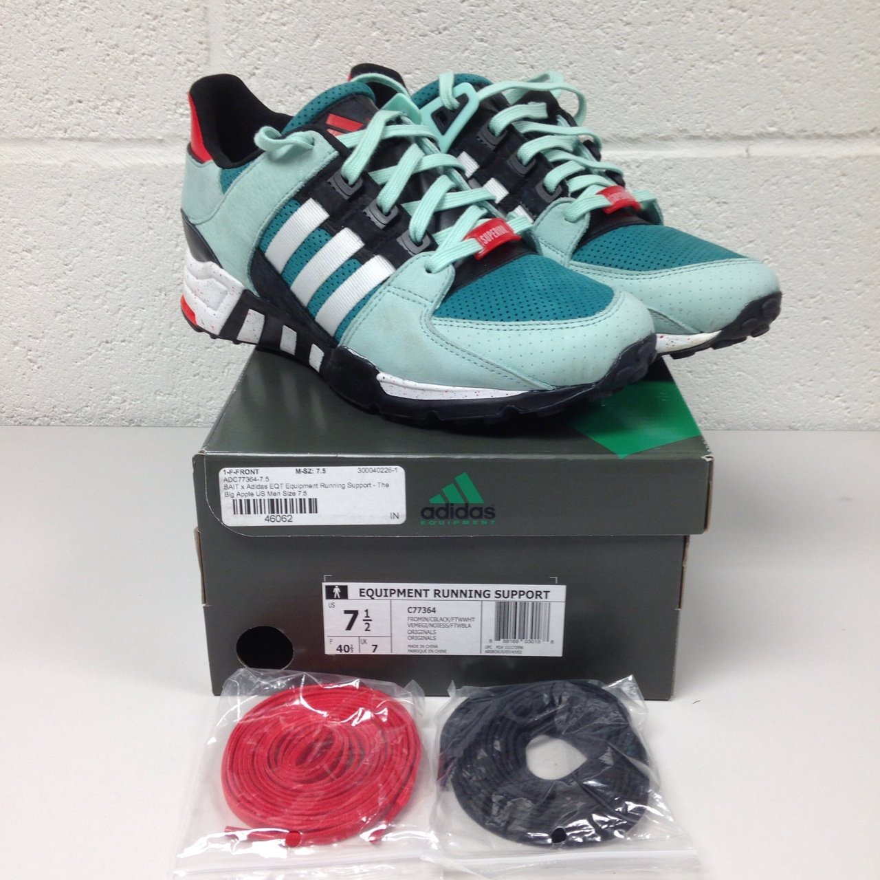 outlet store 0e0fb 7561d  drakie06. 4 years ago. Essex, UK. Adidas x BAIT EQT Running Support  Big  Apple  ...