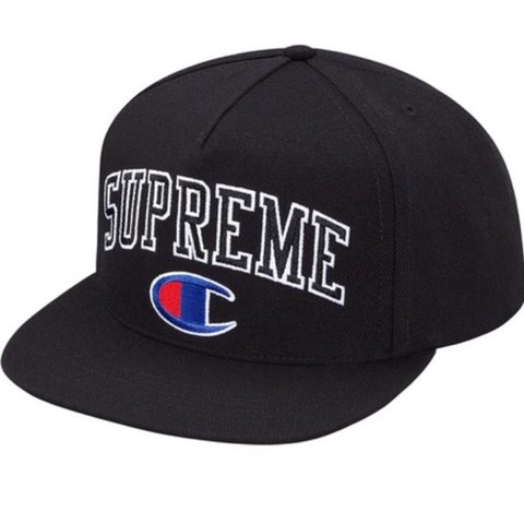 080ede1a ... canada wtb supreme x champion snapback hmu with your prices depop ac98e  bdeb8