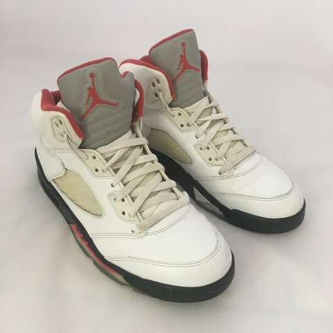 best authentic 964b9 45daa  mikeyikes. 7 months ago. London, United Kingdom. Nike air Jordan retro 5  fire  red  size 9 136027-100 ...