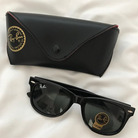 c4cda7e2a @joycescloset. 2 years ago. San Diego, United States. Ray ban Wayfarer  glasses with case. Brand new, never worn.
