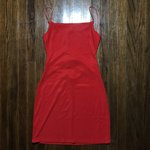 """201d77019ba8 Oh Polly """"Run The Show Cut Out Satin Mini Dress"""" in red out - Depop"""