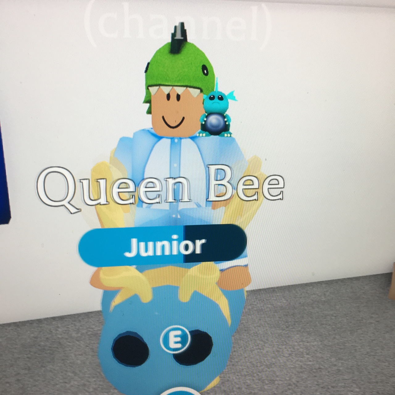 Roblox Queen Bee Adopt Me Fly Ride Queen Bee Feel Free To Offer Will Go Lower Depop