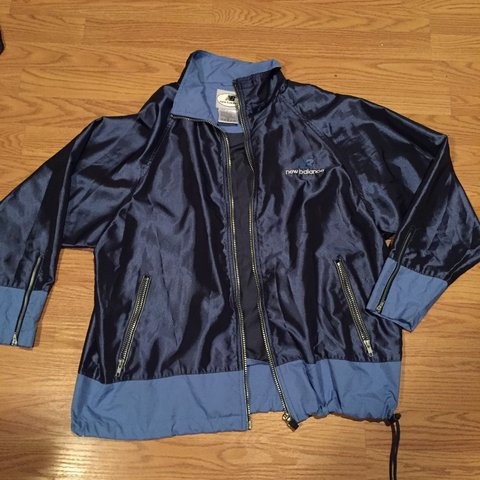 052dad10b5273 @geechav. 3 years ago. West Covina, CA, USA. Today only! Vintage New  Balance jacket men's size Large ...