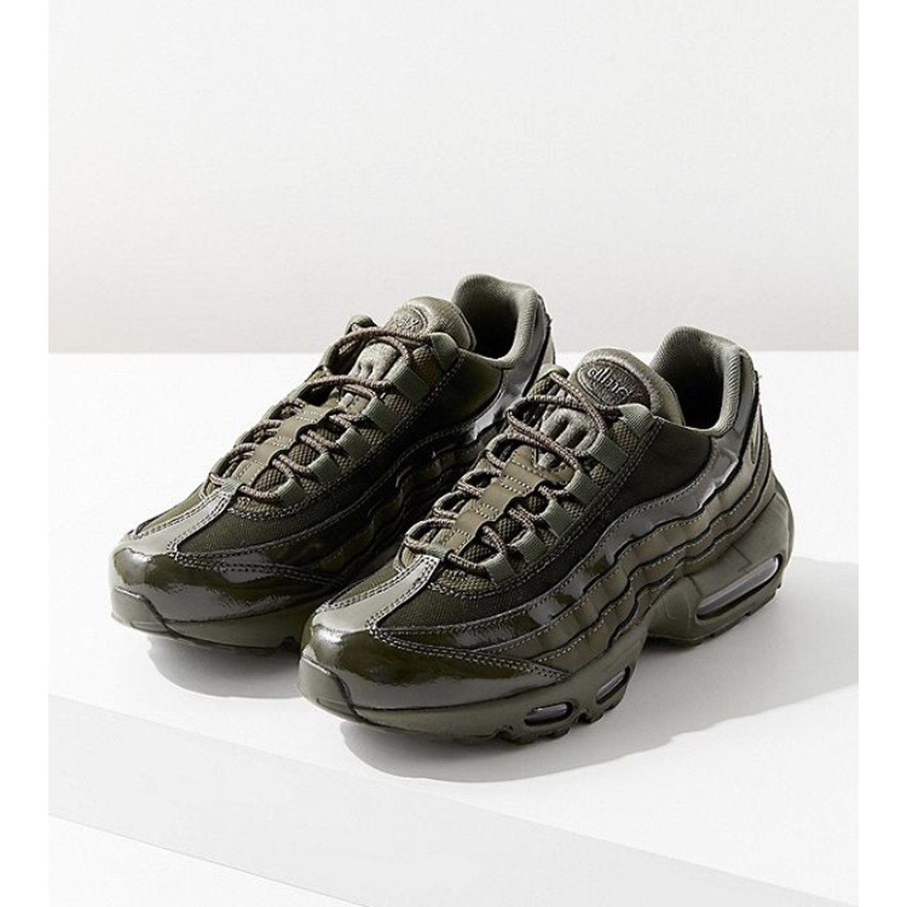 8fdcbeaf37 Nike Air Max 95 in dark olive green! They are soo cute and a - Depop