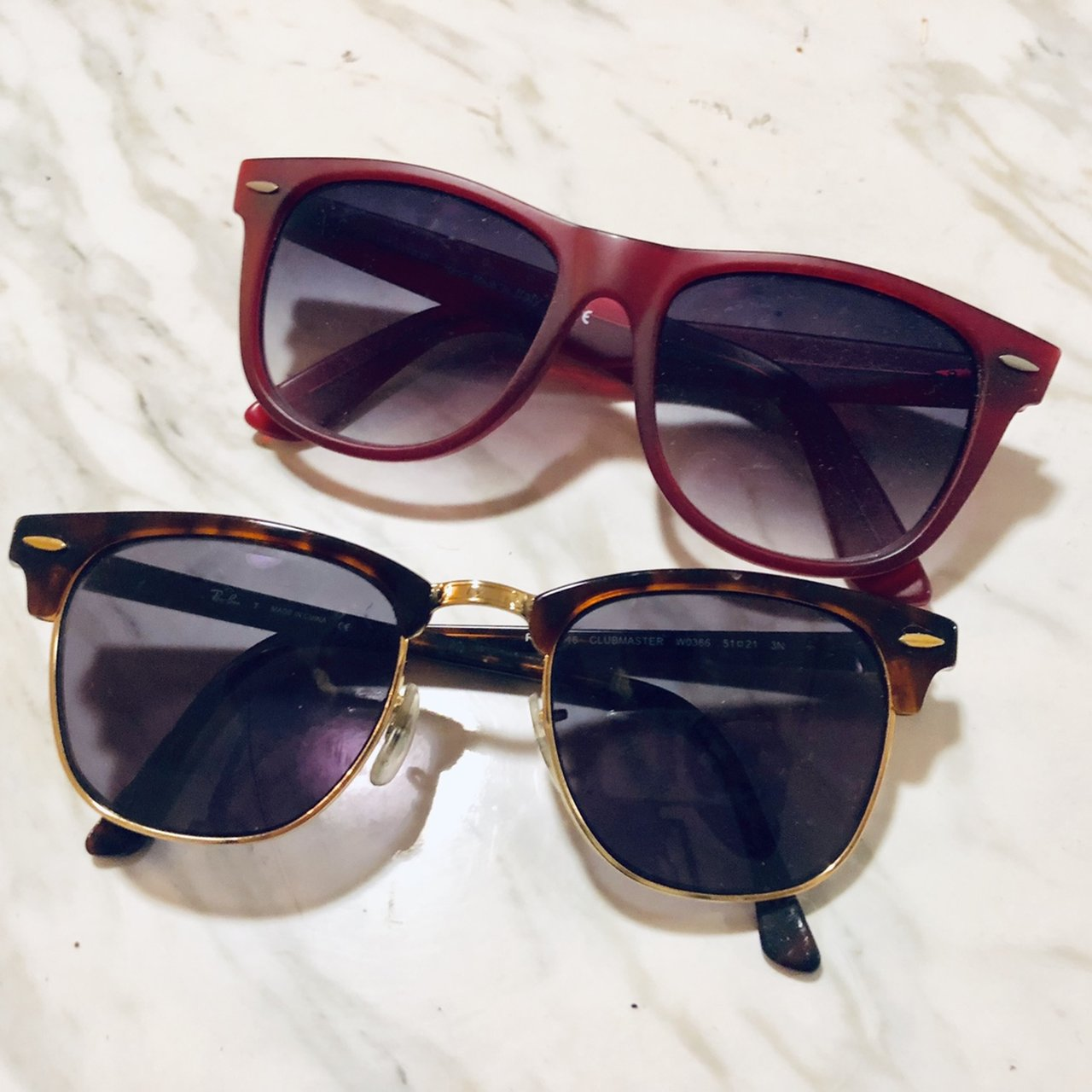 2b329f718b These are prescription Ray Ban sunglasses. You will need to - Depop