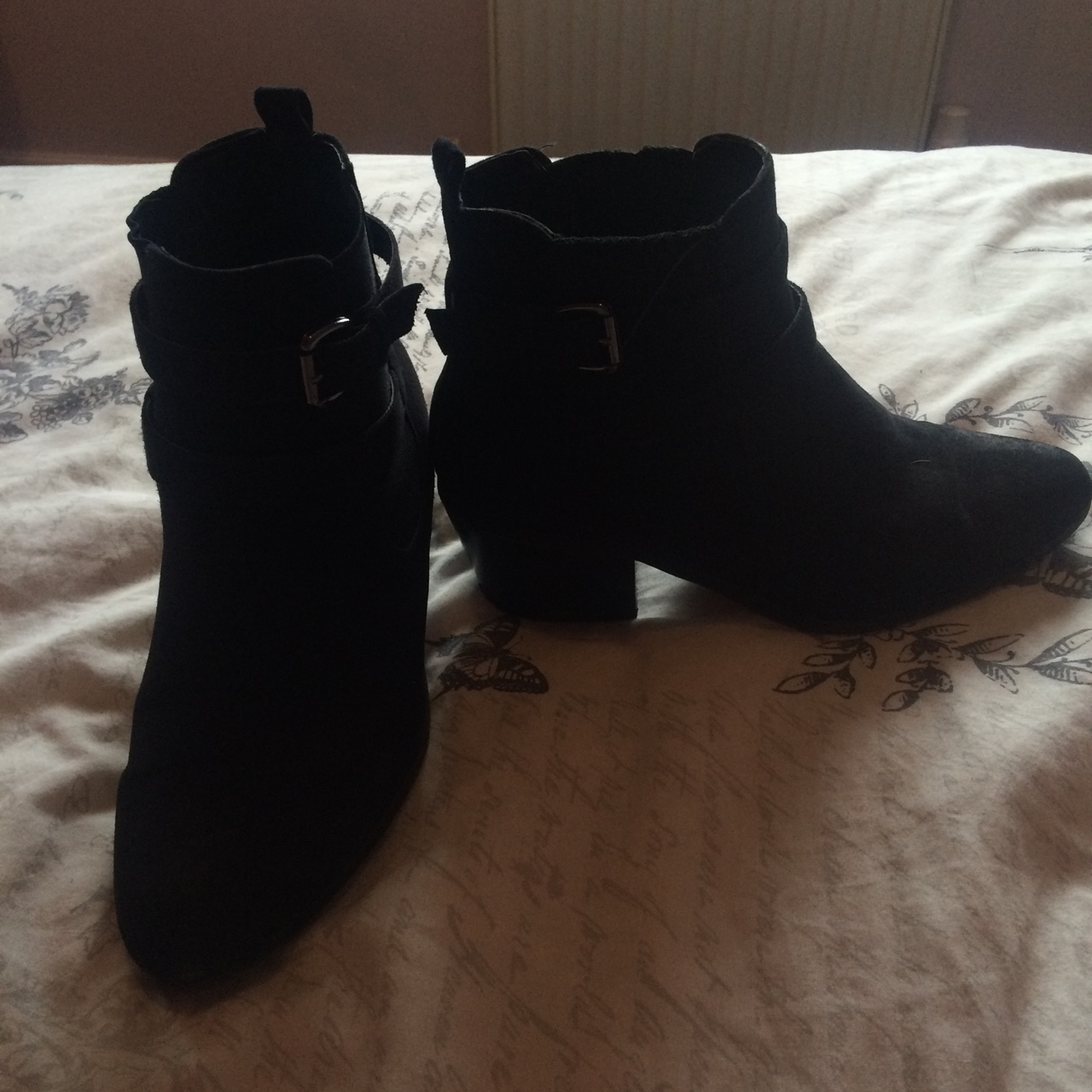 ad2da139e New look buckle ankle boots.