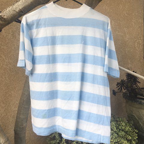 fdf2e992 @gabriellapalencia. last year. Cypress, United States. LIGHT BLUE AND WHITE  STRIPED SHIRT SUPER SOFT AND COMFY !