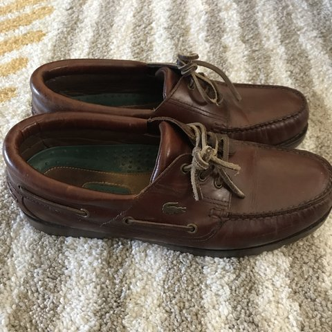 new styles 3477e 7927f  stevowmt. 9 months ago. London, United Kingdom. Lacoste boat shoes.