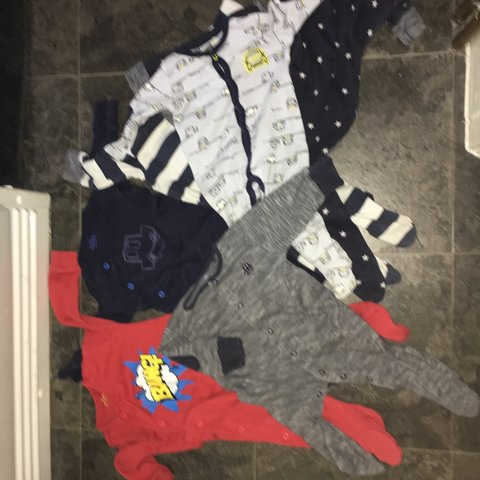 85d642d1f741 Baby boy baby grow bundle all been used but good condition - Depop