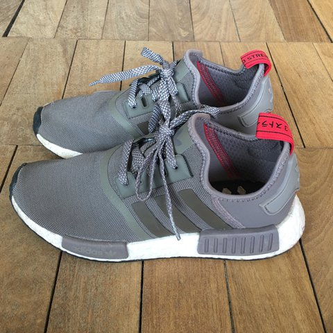 c364e9ac416c2 REDUCED FROM £60 Size 6 Adidas NMD in a khaki grey colour