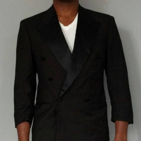 061a249ca @mrstarks. 3 years ago. London, United Kingdom. Vintage Hugo Boss Double  Breast Tuxedo.