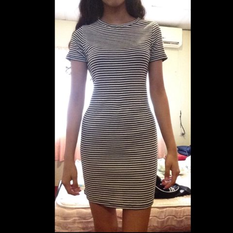 8c172101db18 @aliciabb. 2 years ago. Mississauga, ON, Canada. Brandy Melville Jenelle t-shirt  dress. It fits like a ...