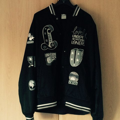 buy popular db56f 4ae5d  ross24cairns. 4 years ago. Northampton, Northampton, UK. Nike x Parra  Varsity Jacket ...