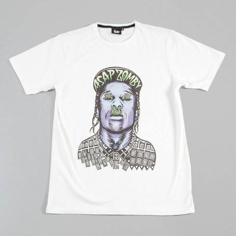 d11171fcb065 @beneculture. 3 years ago. Birmingham, West Midlands, UK. Tealer ASAP rocky  zombie t-shirt //Check out more items on