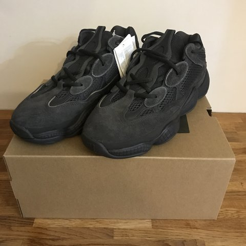 0c116b87e4969 Adidas yeezy 500 utility black size 8. Brand new in box been - Depop